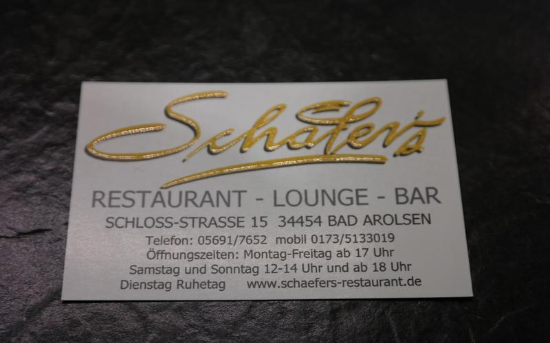 Bilder des Restaurant Schäfer's in Bad Arolsen